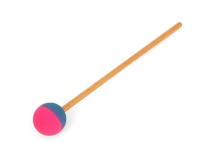 Gongreiber - Gummischlägel 4,5 cm