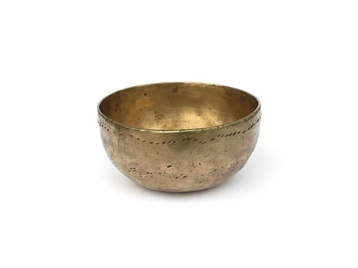 Alte indische Orissa Klangschale 315 Gr. Wasserstoffgamma