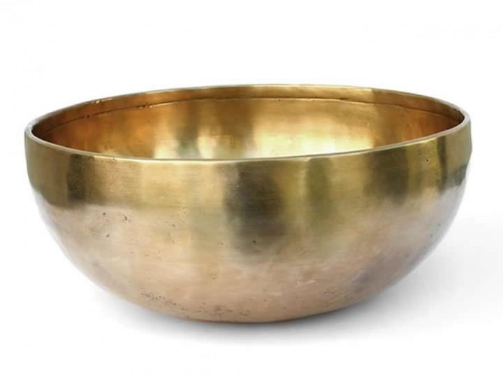 Tibetische Klangschale 1830 Gr. Merkur + Uranus