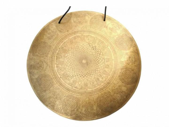 Tibetischer Gravur Gong Ø 54 cm