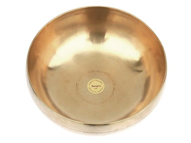 Peter Hess® Sangha-Meditationsklangschalen 1000g (gold)