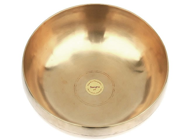 Peter Hess® Sangha-Meditationsklangschalen 2500g (gold)
