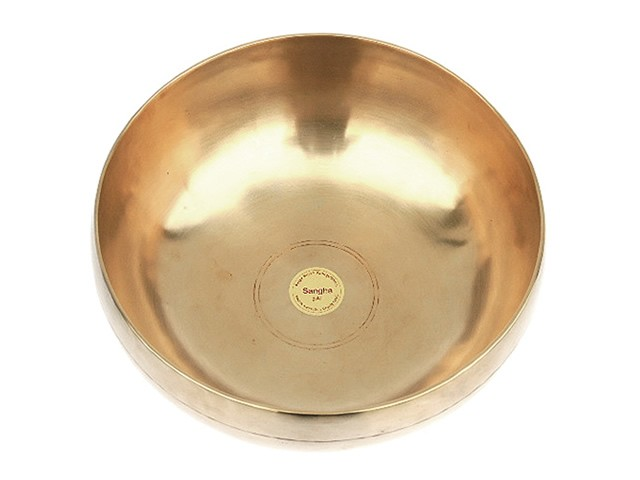 Peter Hess® Sangha-Meditationsklangschalen 700g (gold)