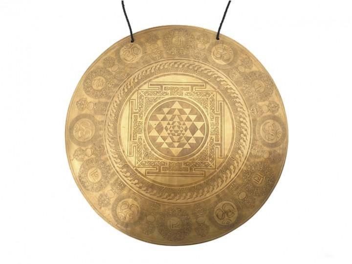 Tibetischer Gravur Gong Ø 51,5 cm